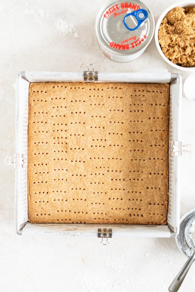 Brown Butter Shortbread Base