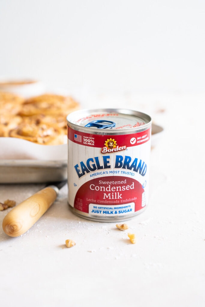 Can of eagle brand condensed milk