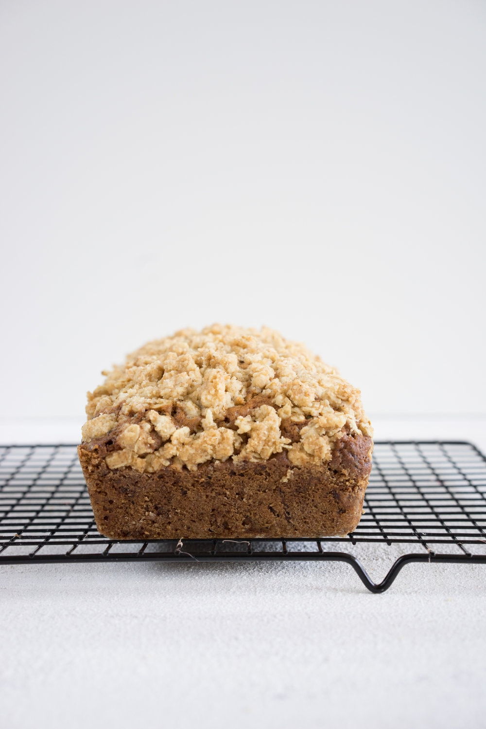 Brown butter zucchini streusel bread - a simple twist on a classic favourite