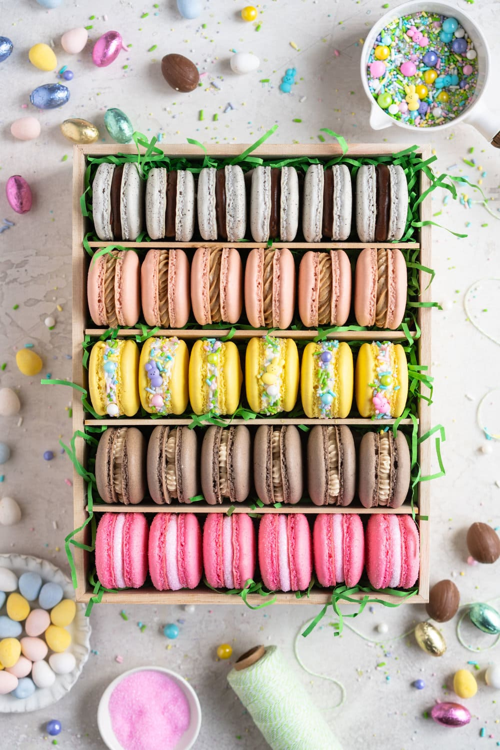 The Ultimate Easter Macaron Box Cloudy Kitchen