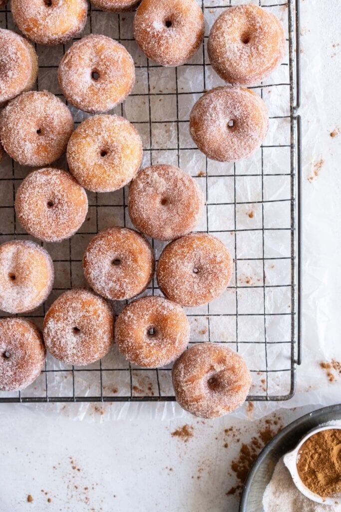 corner shot mini donut