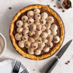 Mocha Cream Pie with Espresso Whipped Cream