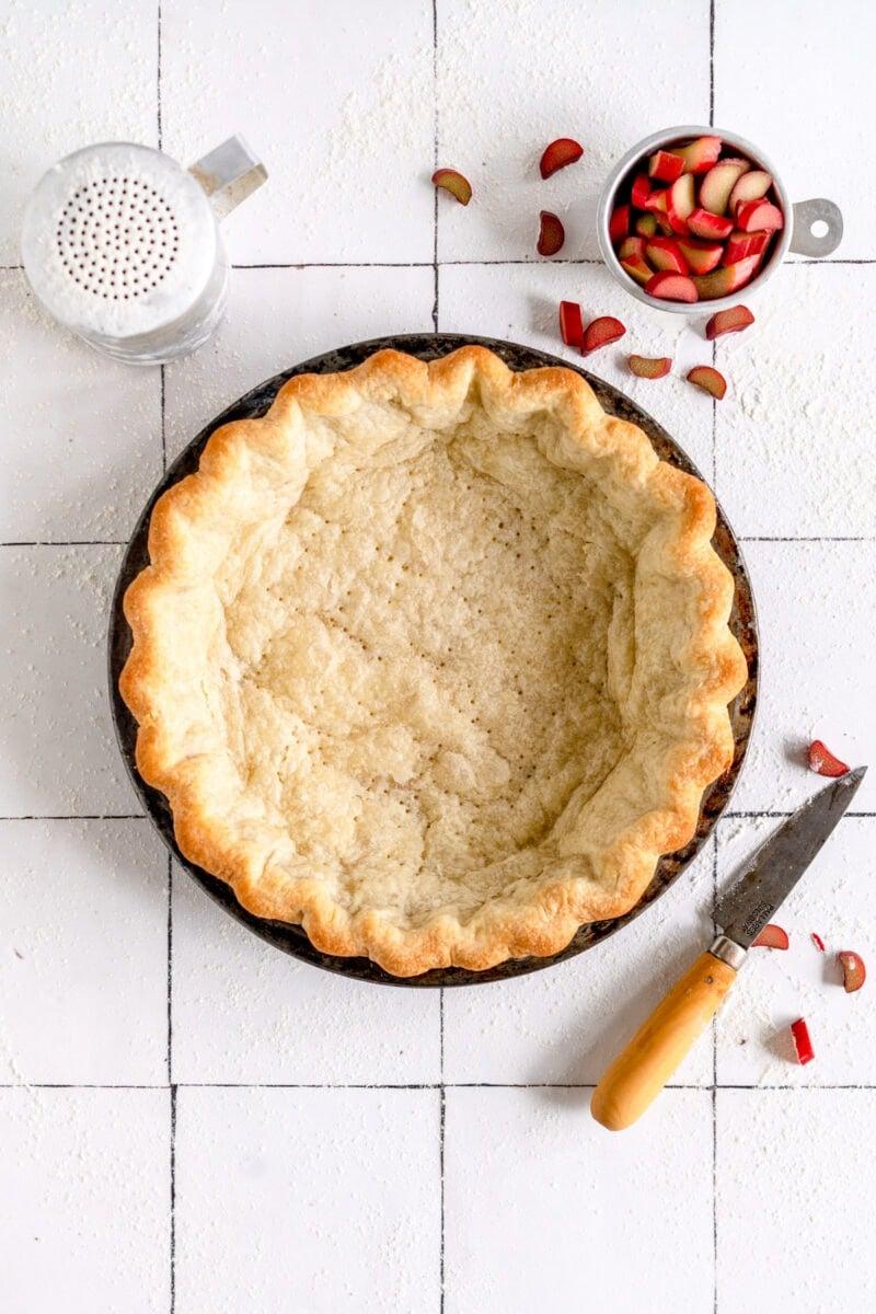 blind baked pie crust
