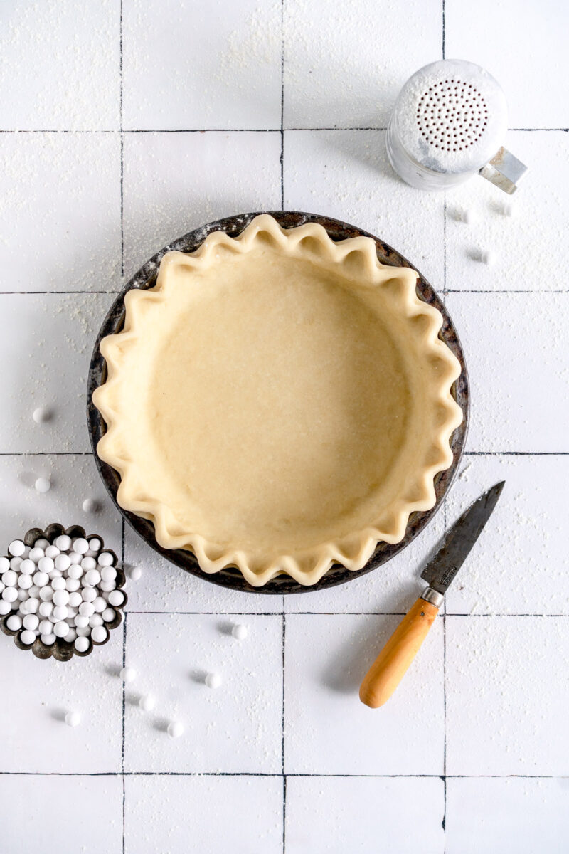 pie crust ready to bake