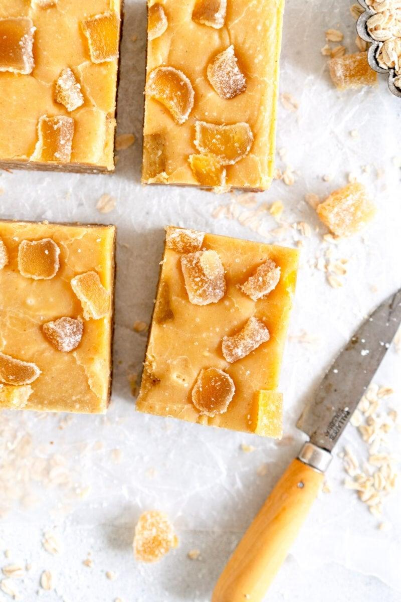 Slice of ginger crunch