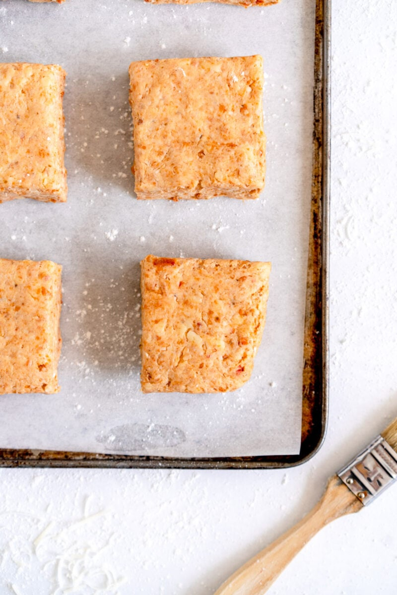 unbaked savory scone