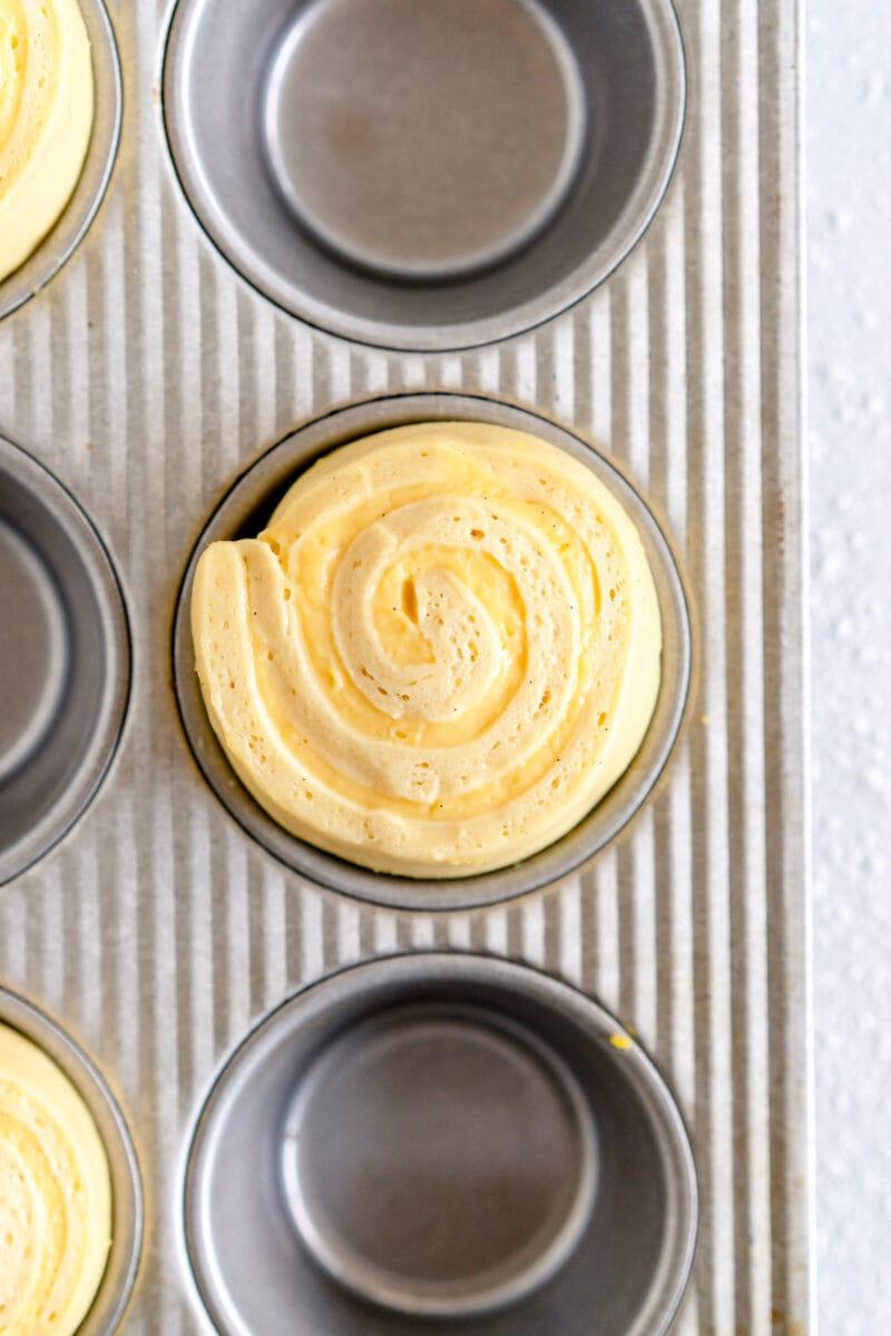 custard swirled in brioche dough