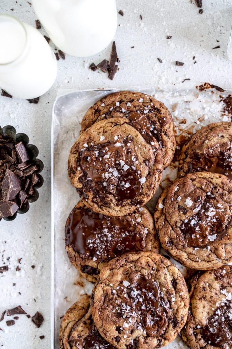 corner image nutella cookies